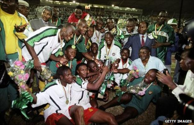Cameroon's 2000 African champions