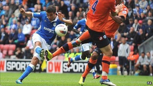 Franco Di Santo fires in for Wigan