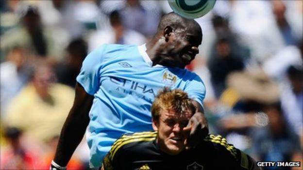 Manchester City's Micah Richards