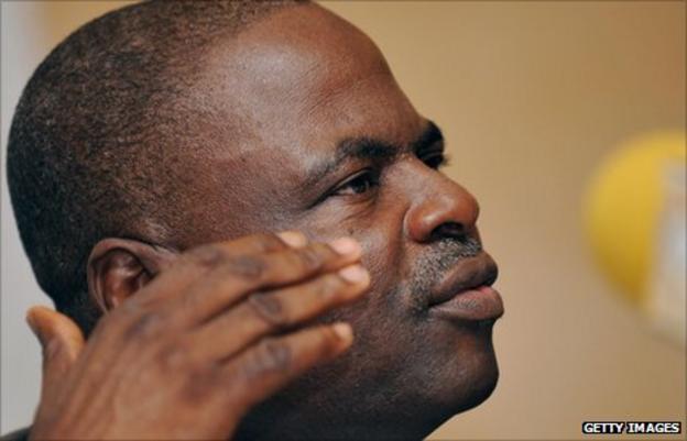 Nigerian football administrator Amos Adamu