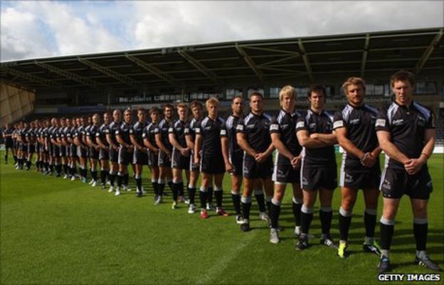 Newcastle Falcons squad