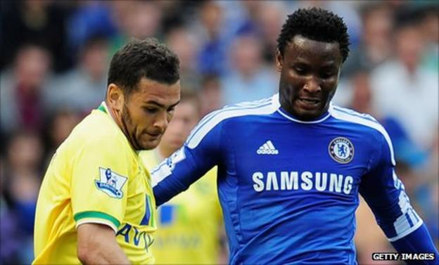 Bradley Johnson and Mikel