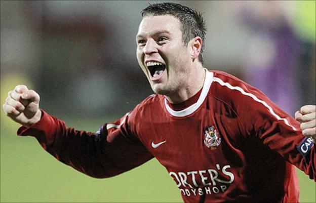 Kevin Braniff of Portadown