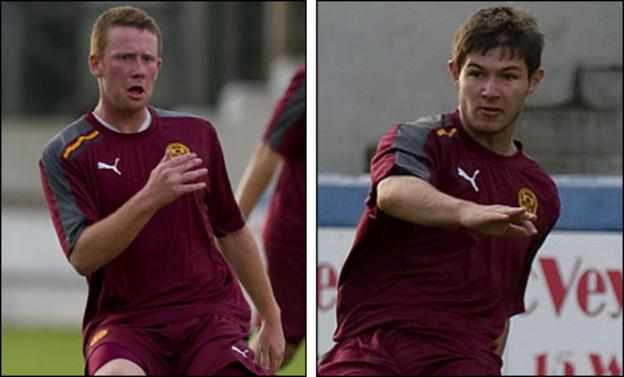 Ross McKinnon and Steven Howarth