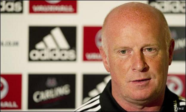 Scotland assistant Peter Houston