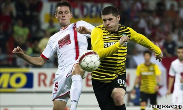 Michael Dingstag and Gary Hooper