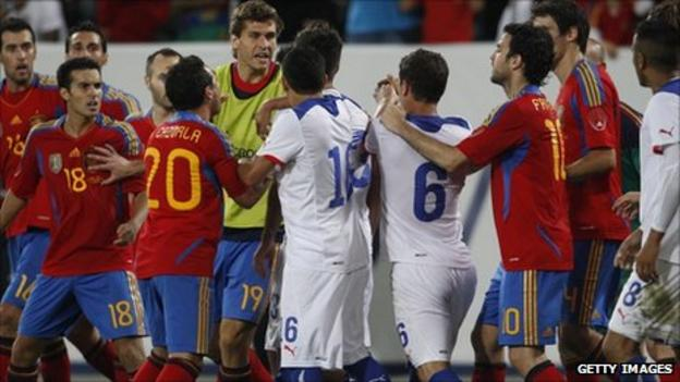 Chile 2-3 Spain