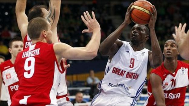 Eurobasket great britain beat poland in final match bbc - British basketball league table ...
