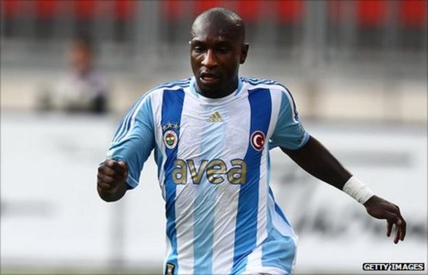 Senegal's Mamadou Niang