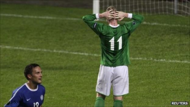 Northern Ireland midfielder Grant McCann