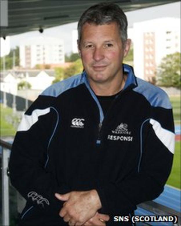 Glasgow Warriors head coach Sean Lineen