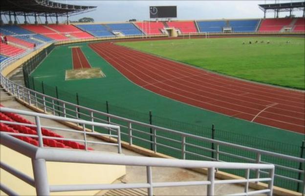 The Bata stadium in Equatorial Guinea