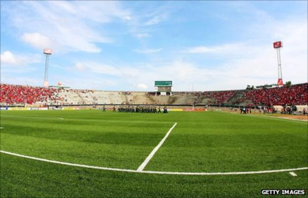 Maputo's Machava Stadium