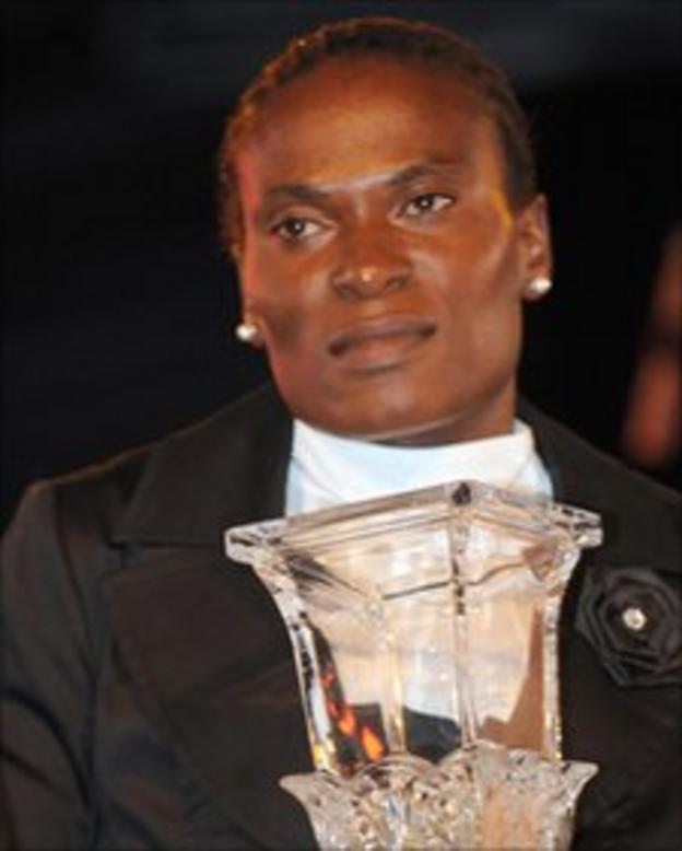 Former Africa Women's footballer of the year Noko Matlou