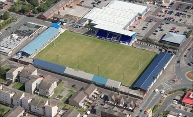 Barrow's Craven Park ground