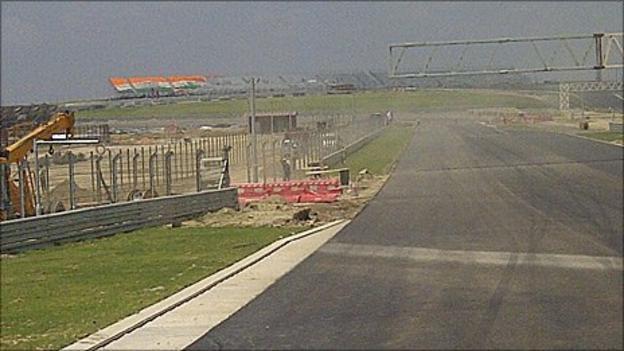 Indian Grand Prix track