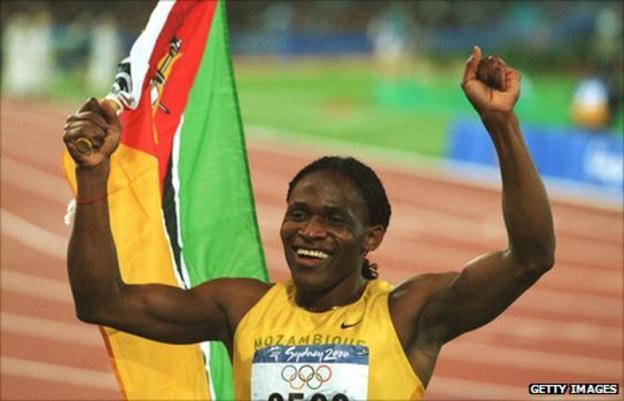 Mozambique legend Maria Mutola