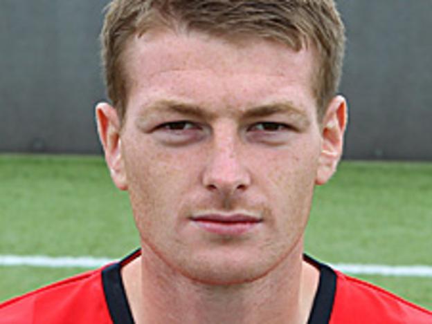 Crewe Alexandra defender Adam Dugdale