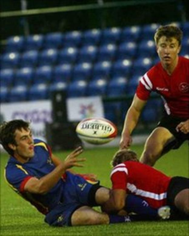 Isle of Man Commonwealth Youth Games Rugby 7s Team