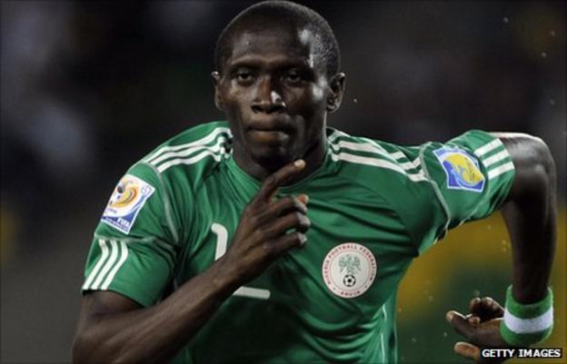 Nigeria and VVV Venlo striker Uche Nwofor