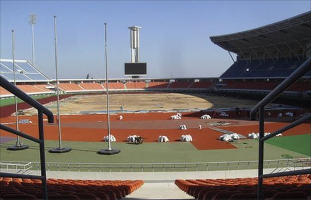 Mozambique's Zimpeto National Stadium