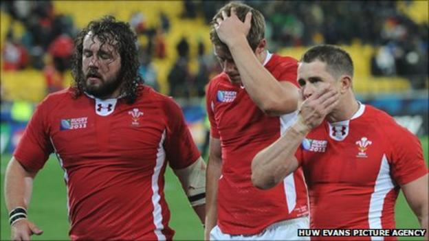 Wales' Adam Jones, Rhys Priestland and Shane Williams reflect on the South Africa loss