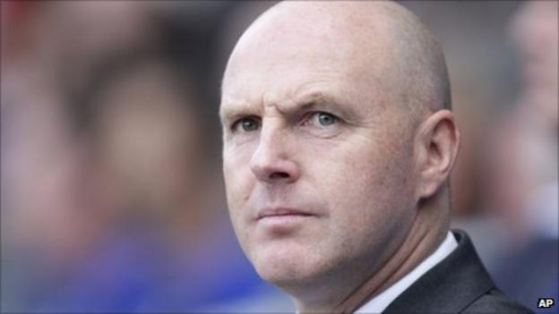 Blackburn Rovers manager Steve Kean