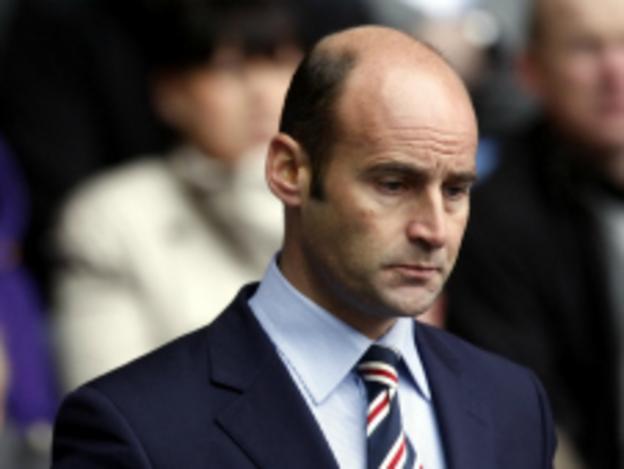 Former Rangers CEO Martin Bain
