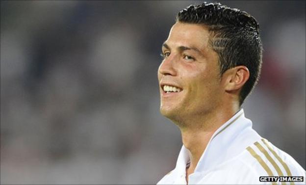 Real Madrid player Cristiano Ronaldo