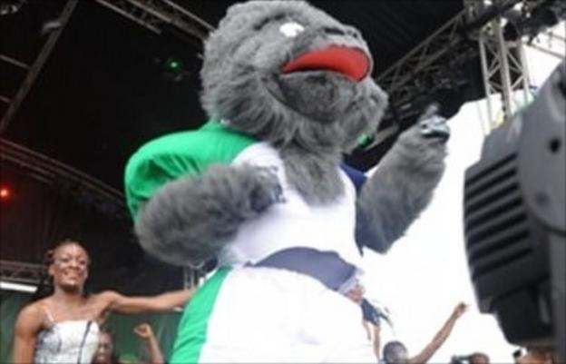 The 2012 African Cup of Nations Mascot