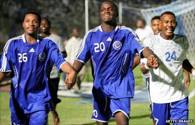 Al Hilal players
