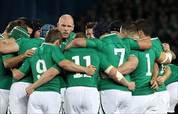 Skipper Paul O'Connell inspired Ireland to a memorable win over Australia