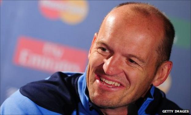 Scotland attack coach Gregor Townsend