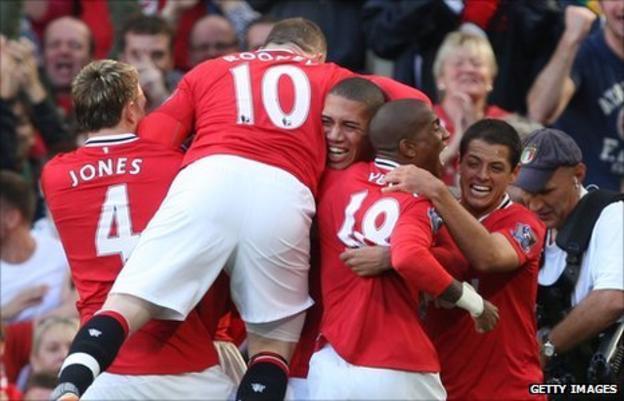 Man Utd have scored 24 League goals in five matches