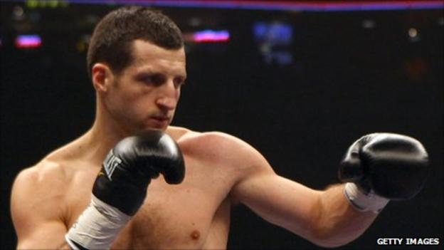 The unification clash between Carl Froch and Andre Ward has been postponed