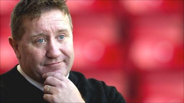 East Fife manager John Robertson