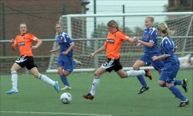 Glasgow City beat Forfar in the Henson Scottish Cup