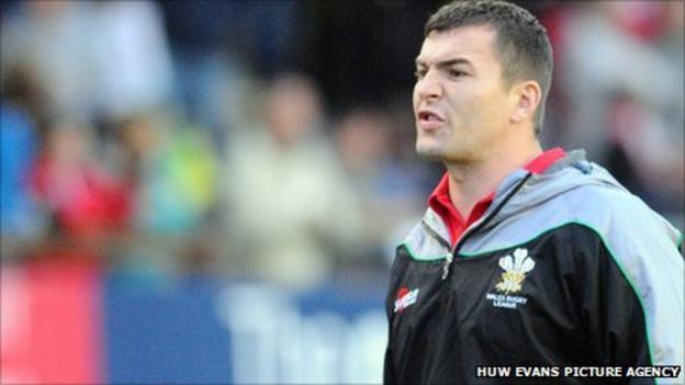 Iestyn Harris Wales Rugby League coach