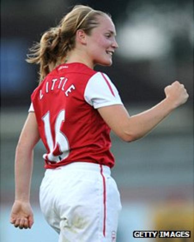 Kim Little of Arsenal Ladies FC