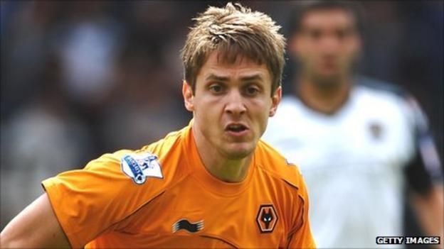 Wolves striker Kevin Doyle