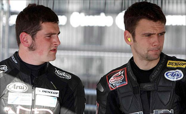 Ballymoney brothers Michael and William Dunlop