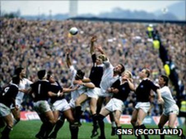 Scottish and English forwards