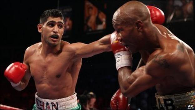 Amir Khan was not troubled by IBF veteran Zab Judah in Las Vegas