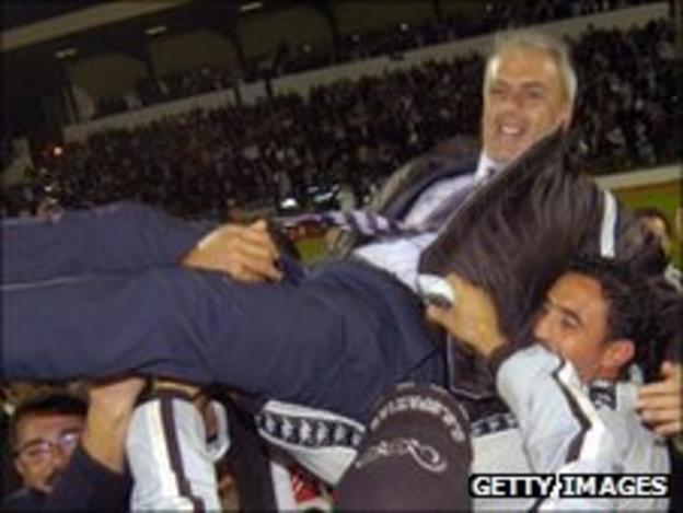Wydad Casablanca coach Michel Decastel