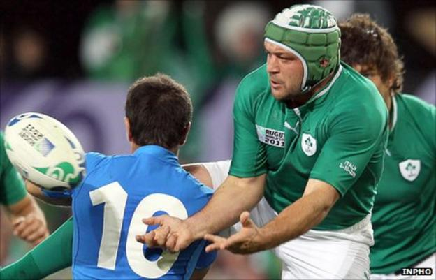 Luciano Orquera and Rory Best