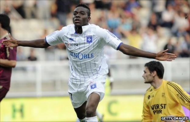 Burkina Faso striker Alain Traore