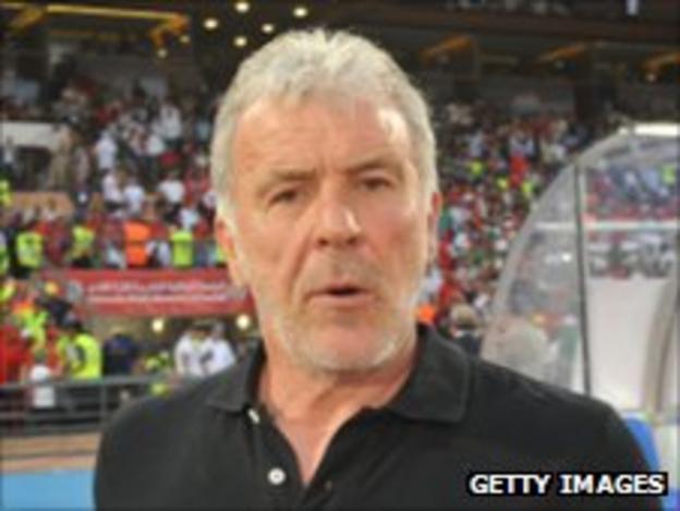 Morocco coach Eric Gerets