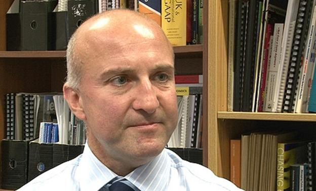 Professor Simon Shibli, director of the Sport Industry Research Centre at Sheffield Hallam University