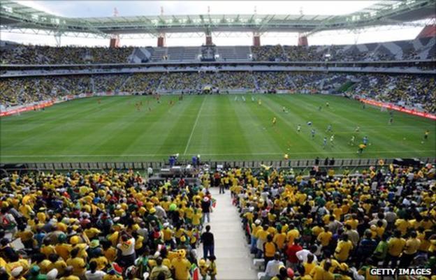 Nelspruit's Mbombela stadium