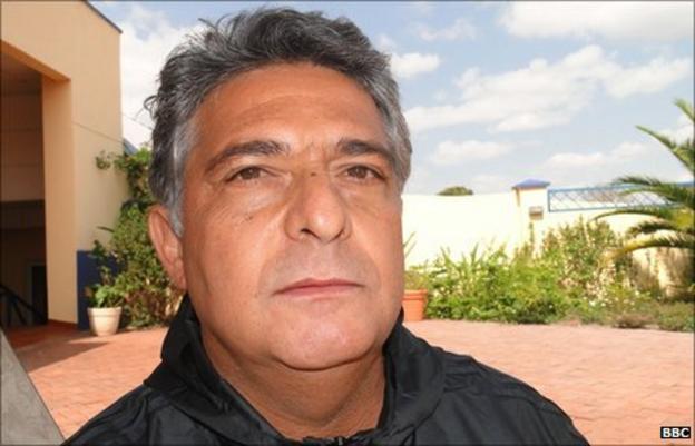 Libya's Brazilian coach Marco Paqueta